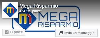 link alla pagina facebook Mega Risparmio